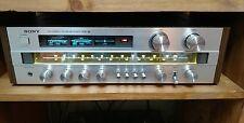 VINTAGE SONY STR-V4 AM FM RECEIVER AMPLIFIER Silver Wood Stereo  Japan