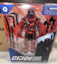 "2020 GI Joe Classified Series #08 RED NINJA 6"" Figure IN STOCK! Hasbro"