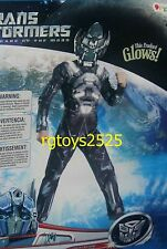Transformers IRONHIDE Muscle Costume size 4-6 Small New Dark of the Moon w glow