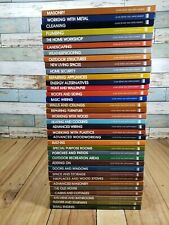 COMPLETE HOME REPAIR AND IMPROVEMENT Time-Life Set of 36 Hardcover DIY Books