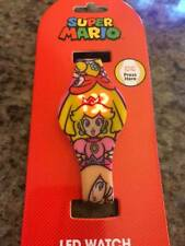 Super Mario Princess Peach LED Watch - New in Package
