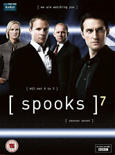 SPOOKS COMPLETE SERIES 7 DVD 7TH Seventh Season Brand New Sealed UK Release