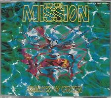 THE MISSION / SHADES OF GREEN * NEW MAXI-CD * NEU *