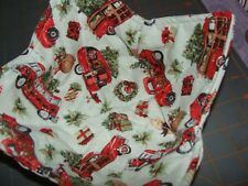 Microwave Bowl Holder Little Red Truck Christmas Tree Cozy Potholder Cover Kozy