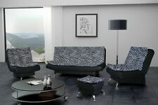 Fabric Living Room Striped Furniture Suites with Armchair