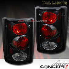 Black Style Tail lights for 2000-2006 Ford Excursion 1995-2006 Econoline (L+R)