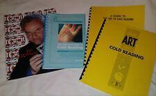 Cold Reading Lot Mentalism Ian Rowland Robert Nelson Genii Roy Walton Peter Kane