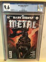 DARK NIGHTS: METAL #1 VARIANT COVER CGC 9.6 BATMAN