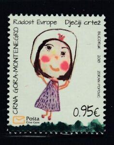 MONTENEGRO Joy of Europe 2018 MNH stamp