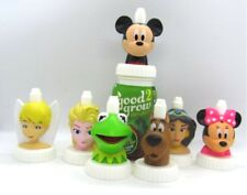 Good 2 Grow Bottle Toppers Disney Elsa Tinkerbell Mickey Minnie Kermit Jasmine