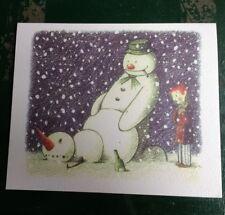 Banksy-rude bonhomme de neige Noël Carte-Santa 's Ghetto POW dismaland-Comme neuf RARE