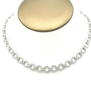 Chantecler CAPRI 18K white Gold Diamond Necklace
