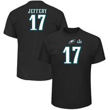 Philadelphia Eagles Alshon Jeffery NFL Super Bowl LII Patch Name/Number T-Shirt