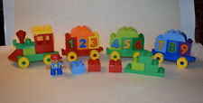 Lego Duplo #10558 My First Number Train 2013 (missing 2 pcs)