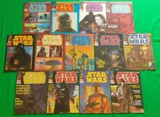 Star Wars Monthly ***VGC COMPLETE SET 159-171!!*** Marvel UK Space Fantasy