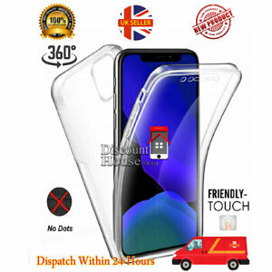 For Iphone Xs/X TPU Soft 360 Clear Gel Front and Hard PC Back Case Cover