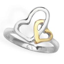 Anillos de joyería de metales preciosos sin piedras de plata de ley oro