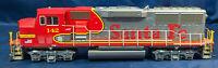 Athearn SANTA-FE EMD GP60M LOCOMOTIVE Red/Silver #142 DCC. HO SCALE
