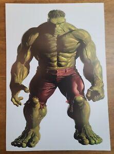 Hulk Bruce Banner by Alex Ross Marvel Comics Poster