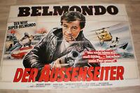 A0 Filmplakat  BELMONDO DER AUSSENSEITER,JEAN PAUL BELMONDO
