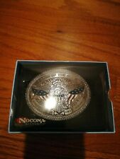 Nocona Land of the free because of the brave Belt Buckle 37916