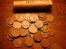 30 Rolls Wheat Pennies 1909-1958 PDS Mixed Lot Free Shipping 1500