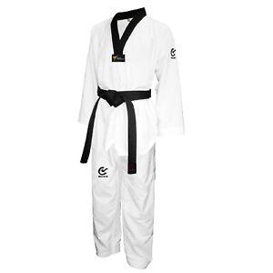 WACOKU FALCON s/R WT-approved, Taekwondo Dobok, Anzug mit schwarzen Revers