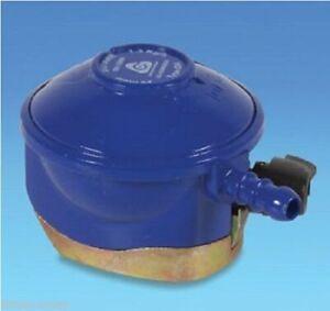 BLUE BUTANE REGULATOR 28MBAR TYPE 634, CLIP ON, BBQ,GAS BOTTLE