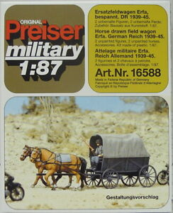 Replacement Field Wagon Substitute cross Country Vehicle Covered, Ho, 1/87,