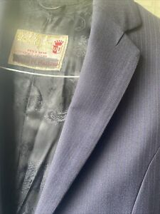 Navy Two Piece Custom Saddleseat Suit