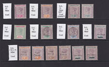 Leeward Islands. Mounted mint selection.