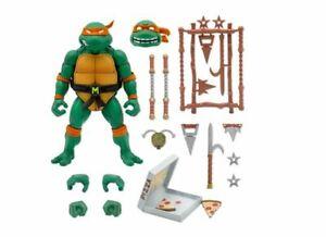 Teenage Mutant Ninja Turtles Ultimates Michelangelo 7-Inch Super7 Pre Sale