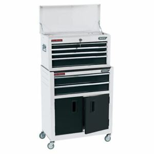 """Draper 19576 24"""" Combined Roller Cabinet and Tool Chest 6 Drawer"""