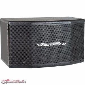 "VocoPro SV-400 8"" Two-Way Live Vocal Speaker Monitor 150 Watts"