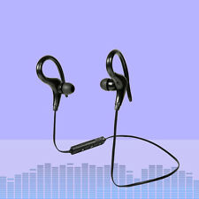 Universal 4.1 Bluetooth Wireless Stereo Earphone Earbuds Sport Headphone Headset Black