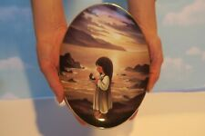 """Precious Moments Plate """"The Pearl of Great Price"""" Limited/No. 4947A"""
