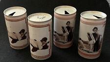 Lot Of 4 Vintage Beer Cans: Olde Frothingslosh, Tin Colander Girls