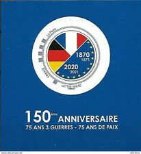 Timbre Poste Collector 150 ans 1870 2020 75 ans guerre 75 ans paix