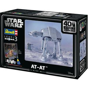 Revell Star Wars Empire Strikes Back AT-AT Plastic Model Kit 40th Anniversary