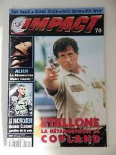 IMPACT Magazine N° 70 COPLAND / ALIEN presse cinéma Mad movies