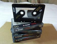 BASF Chrome Super II 90 Min  X 4 Audio Cassettes