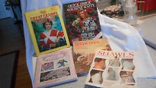 Craft, Knitting, Crocheting, Bloom Loom Lot of 5 five Pattern books (AH