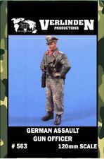 Verlinden 120mm German Assault Gun Officer Resin Figure Model Kit #563