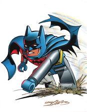 Neal Adams SIGNED DC Comics JLA Super Hero Art Print ~ Batman Lego