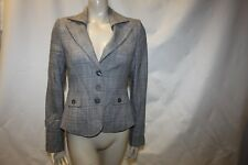 Ladies Grey Check Next Woman Smart Jacket Size 10