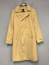 Women BCBG Max Azria Trench Coat Ivory Double Breasted size: 8