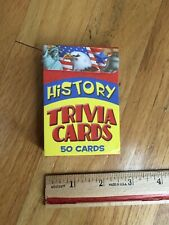 The Clever Factory History Trivia Cards