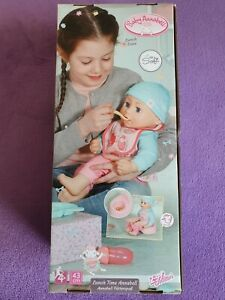 BABY ANNABELL LUNCH TIME 43CM DOLL. FOR CHILDREN AGED 4 YEARS & OVER