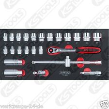 """KS Tools BBA 3/8 """" INSIEME zoccolo, 25 pz. in 1/3 systemeinlage 713.3025"""