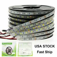 Bright 12V 24V 5M 16.4ft 5050 RGB Waterproof SMD 300 LED Flexible Strip light US